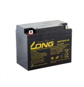 Long 6V 20Ah olověný akumulátor F3 (WP20-6)
