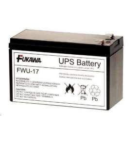 Baterie - FUKAWA FWU-17 náhradní baterie za RBC17 (12V/9Ah), životnost 3-5let