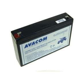 AVACOM Náhradní baterie (olověný akumulátor) 6V 7Ah do vozítka Peg Pérego F1