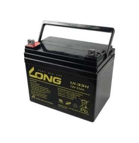 Baterie Long 12V 33Ah olověný akumulátor F4