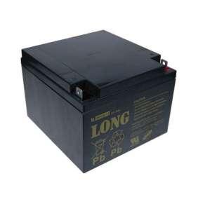 Baterie Long 12V 26Ah olověný akumulátor F3