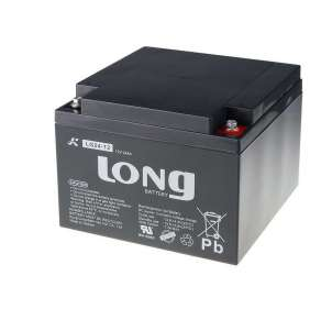Baterie Long 12V 24Ah olověný akumulátor DeepCycle GEL F3