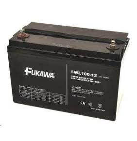 akumulátor FUKAWA FWL 100-12 (12V  100Ah  závit M6  životnost 10let)