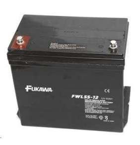 akumulátor FUKAWA FWL 55-12 (12V  55Ah  závit M6  životnost 10let)