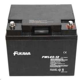 akumulátor FUKAWA FWL 45-12 (12V  45Ah  závit M6  životnost 10let)