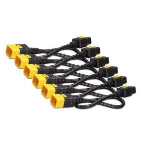 Power Cord Kit (6 ea), Locking, C19 to C20, 0.6m