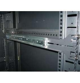 """EUROCASE ližiny pro 19"""" rack o hloubce 450-500mm"""