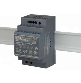 D-Link DIS-H60-24 60W Ultra slim design with 52.5mm (3SU) width Power Supply