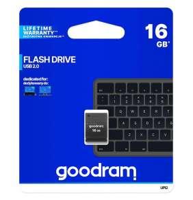 16 GB .   USB kľúč . GOODDRIVE Piccolo Čierna