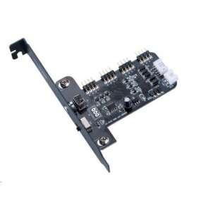 AKASA Kontrolní panel pro LED pásky VEGAS, RGB 12V