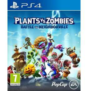 PS4 - PLANTS VS ZOMBIES: BATTLE FOR NEIGHBORVILLE