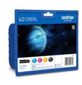 BROTHER INK LC-1280XLVAL Ink černý/azurový/purpurový/žlutý pro MFC-J6910DW
