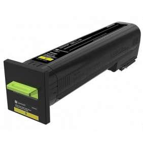 LEXMARK CS820 Yellow Extra High Yield Return Programme Toner Cartridge