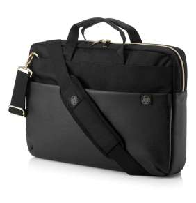 HP 15.6 Duotone Gold Briefcase
