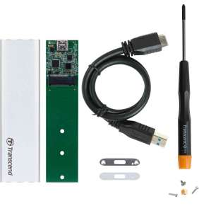 Transcend All-in-one Upgrade Kit TS-CM80S, M.2 SATA SSD For Type 2242/2260/2280