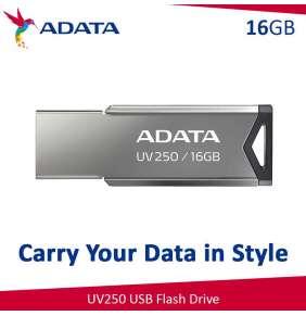Adata USB 2.0 Flash Drive UV250 16GB BLACK