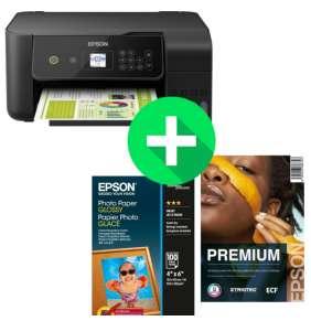 EPSON tiskárna ink EcoTank L3160, 3v1, A4, 33ppm, USB, Wi-Fi (Direct),  LCD panel, 3 roky záruka po registraci