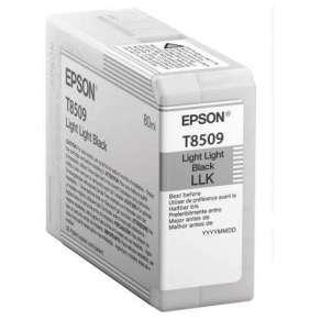 "EPSON ink čer ULTRACHROME HD ""Kosatka"" - Light Light Black - T850900 (80 ml)"