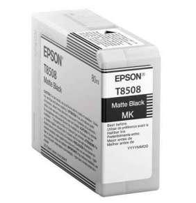 Epson inkoustová náplň/ C13T850800/ Matte Černá