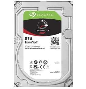 "Seagate IronWolf 8TB HDD / ST8000VN004 / Interní 3,5"" / 7200 rpm / SATA 6Gb/s / 256 MB"