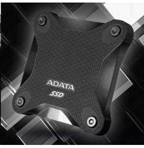 ADATA externí SSD SD600Q 960GB black