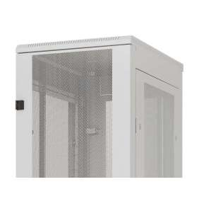 Stojanový rozvaděč 42U (š)600x(h)1000 perforované dveře