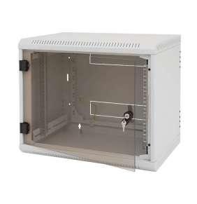 Nástěnný rozvaděč jednodílný 15U/495mm plech.dveře