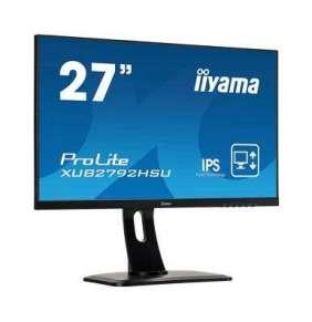 "27"" iiyama XUB2792HSU-B1: IPS, FullHD@75Hz, 250cd/m2, 4ms, VGA, HDMI, DP, USB, height, pivot, černý"