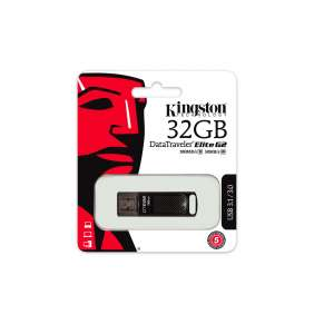 32 GB . USB 3.1 kľúč . Kingston DataTraveler Elite G2 kovový ( r180 MB/s, w50MB/s )