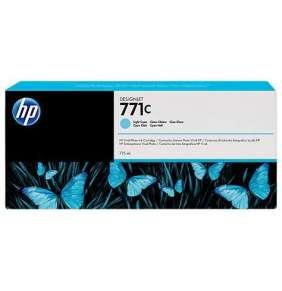 HP 771C Light Cyan DJ Ink Cart, 775 ml, B6Y12A