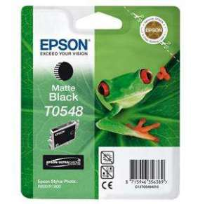 EPSON SP R800 Matte Black Ink Cartridge T0548
