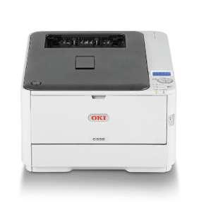 OKI C332dn, A4 LED, color printer, 26 strán/min, 1200x600, USB, LAN, duplex
