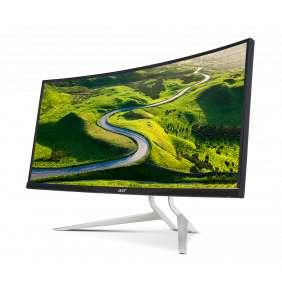 """34"""" LCD Acer XR342CKP - IPS,QHD,1ms,100Hz,300cd/m2, 100M:1,21:9,HDMI,DP,USB,FreeSync,výškov.nastav."""