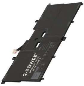 2-POWER Baterie 7,6V 5940mAh pro Dell XPS 13 (9365)