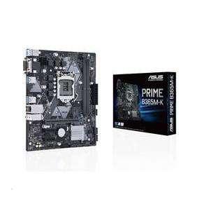 ASUS MB Sc LGA1151 PRIME B365M-K, Intel B365, 2xDDR4, 1xDVI, 1xVGA, mATX