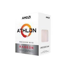 AMD cpu Athlon 200GE Box AM4 (2core, 4x vlákno, 3.2GHz, 5MB cache, GPU Radeon Vega 3, 35W) s chladičem