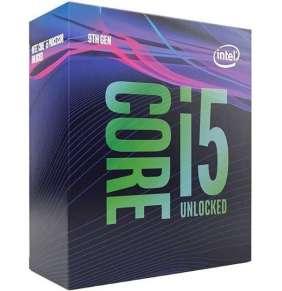 CPU INTEL Core i5-9600KF 3,7 GHz 9MB L3 LGA1151, BOX (bez VGA a bez chladiče)