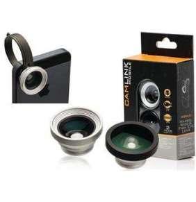 Camlink CL-ML30MWF - Sada objektivů pro mobilní telefon Macro / Wide / Fish Eye