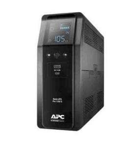 APC Back UPS Pro BR 1200VA(720W), sinusoida, 8 zásuvek, AVR, LCD rozhraní