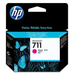 HP 711 Magenta DJ Ink Cart, 29 ml, CZ131A