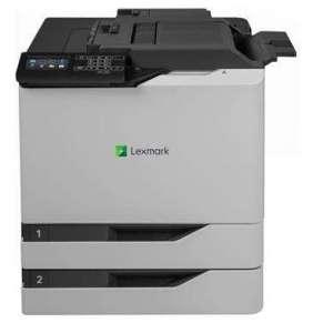 LEXMARK tiskárna CS820dtfe, A4 COLOR LASER, 1024MB, USB/LAN, duplex, dotykový LCD, 2x zásobník papíru, sešívačka