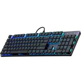 COOLER MASTER MK SK650 RGB mechanická klávesnice US layout CHERRY MX RED LOW PROFILE