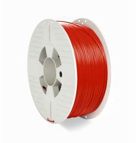 VERBATIM 3D Printer Filament PET-G 1,75mm ,327m, 1000g red