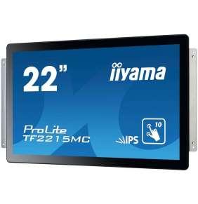 "22"" iiyama TF2215MC-B2: IPS, FullHD, capacitive, 10P, 350cd/m2, VGA, DP, HDMi, černý"