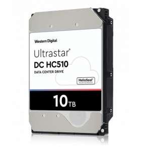 Western Digital Ultrastar® HDD 10TB (HUH721010ALE604) DC HC510 3.5in 26.1MM 256MB 7200RPM SATA 512E SE (GOLD WD101KRYZ)