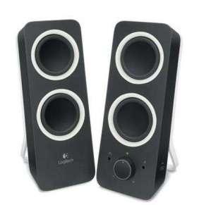 Logitech z200 Multimedia Speakers - MIDNIGHT BLACK