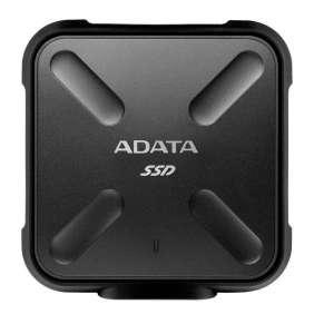 ADATA externySSD SD700 256GB USB 3.1 3D TLC (čítanie/zápis: 440/430MB/s) čirna