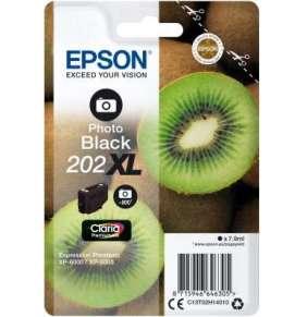 EPSON singlepack, Photo Black 202XL,Premium Ink,XL