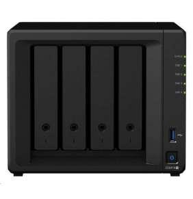 Synology DS918+ DiskStation (4C/CeleronJ3455/1,5-2,3GHz/4GBRAM/4xSATA/2xM.2/2xUSB3.0/1xeSATA/2xGbE)