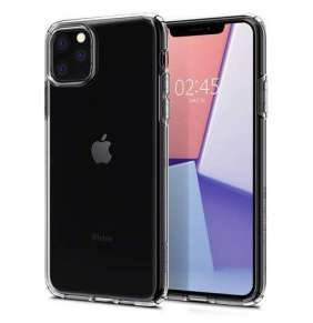 Spigen kryt Liquid Crystal pre iPhone 11 Pro - Crystal Clear